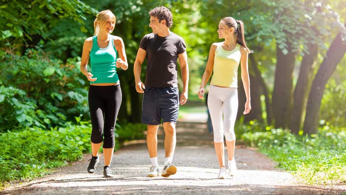 Скільки необхідно ходити в день - кількість кроків в день