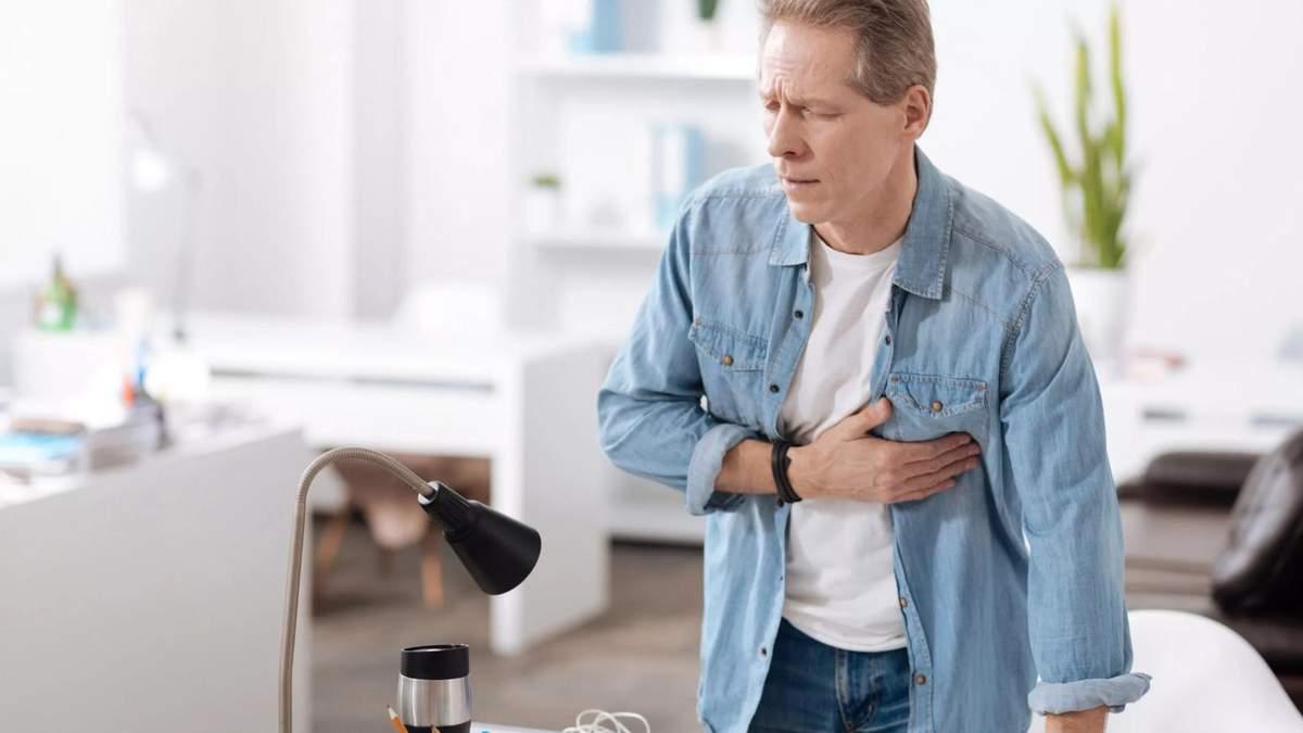Настання холодів підвищує ймовірність серцевого нападу