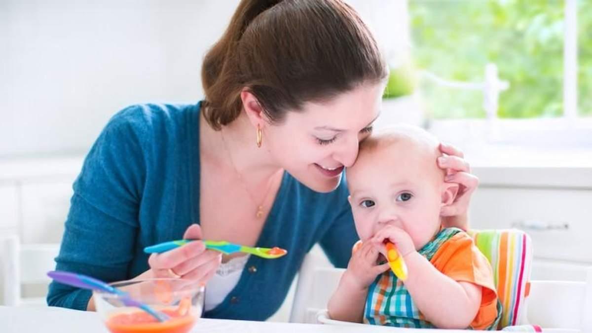 Як відлучити дитину від грудного вигодовування