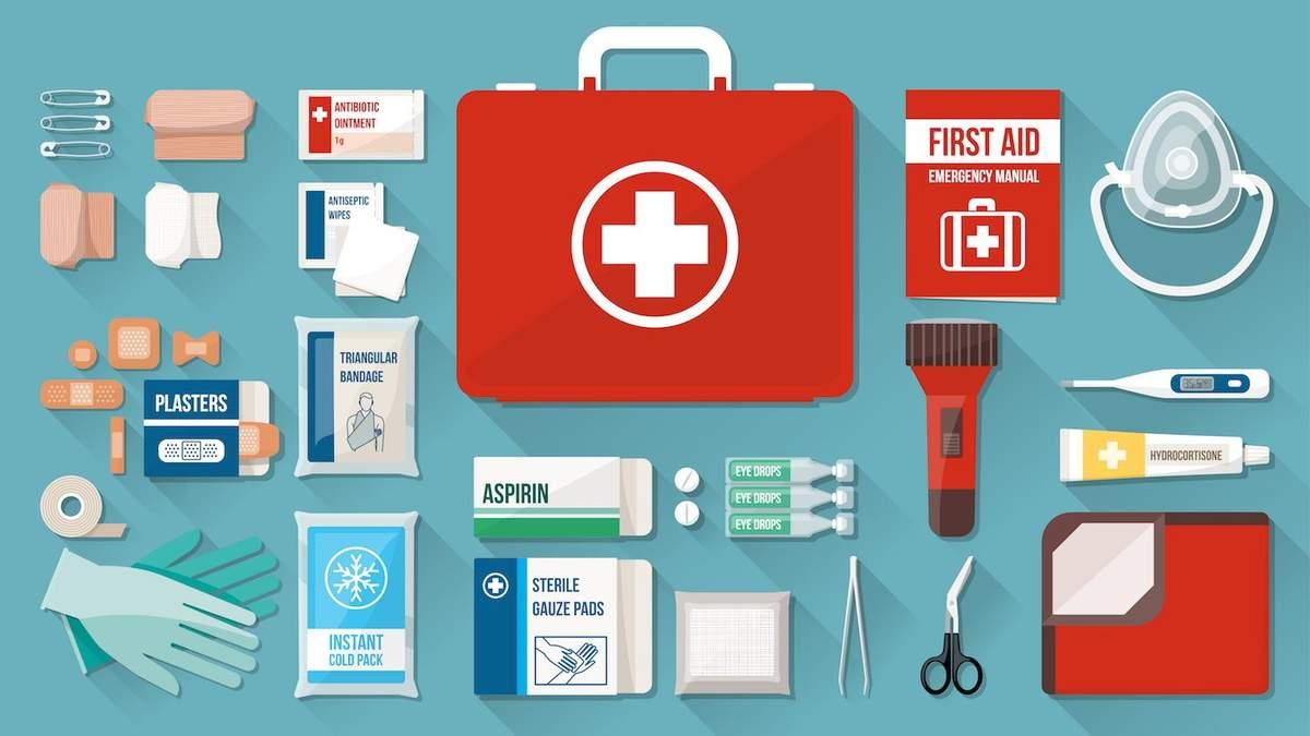 Детская аптечка: что необходимо взять из лекарств