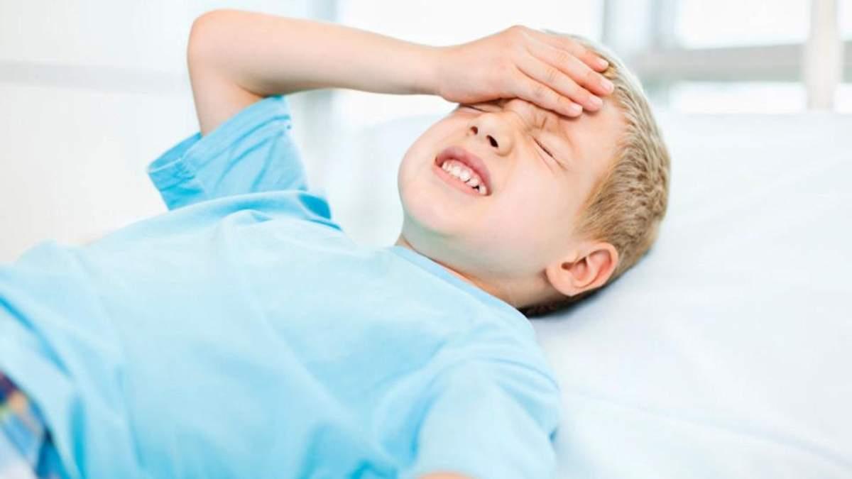 Як виявити струс мозку у дитини: симптоми