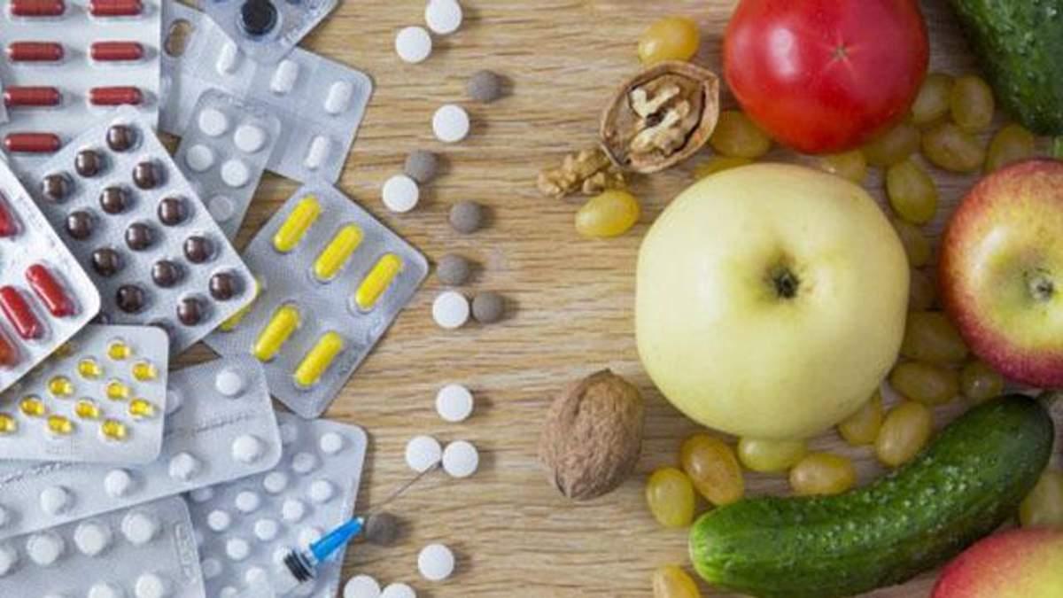 Які ліки небезпечно вживати з їжею