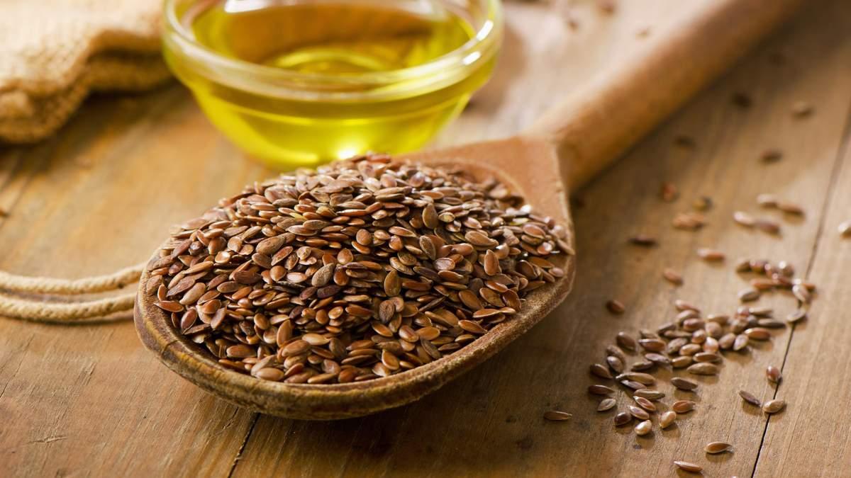 Семена льна стимулируют пищеварение