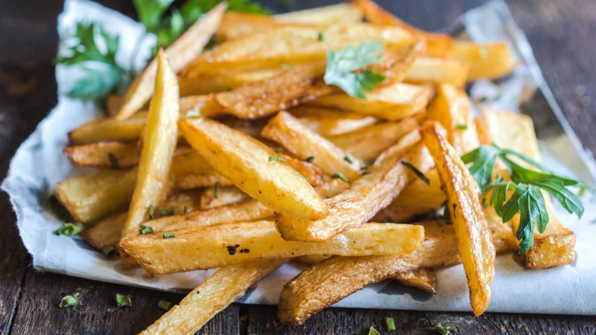 Порція картоплі-фрі містить 7 грамів транс-жирів