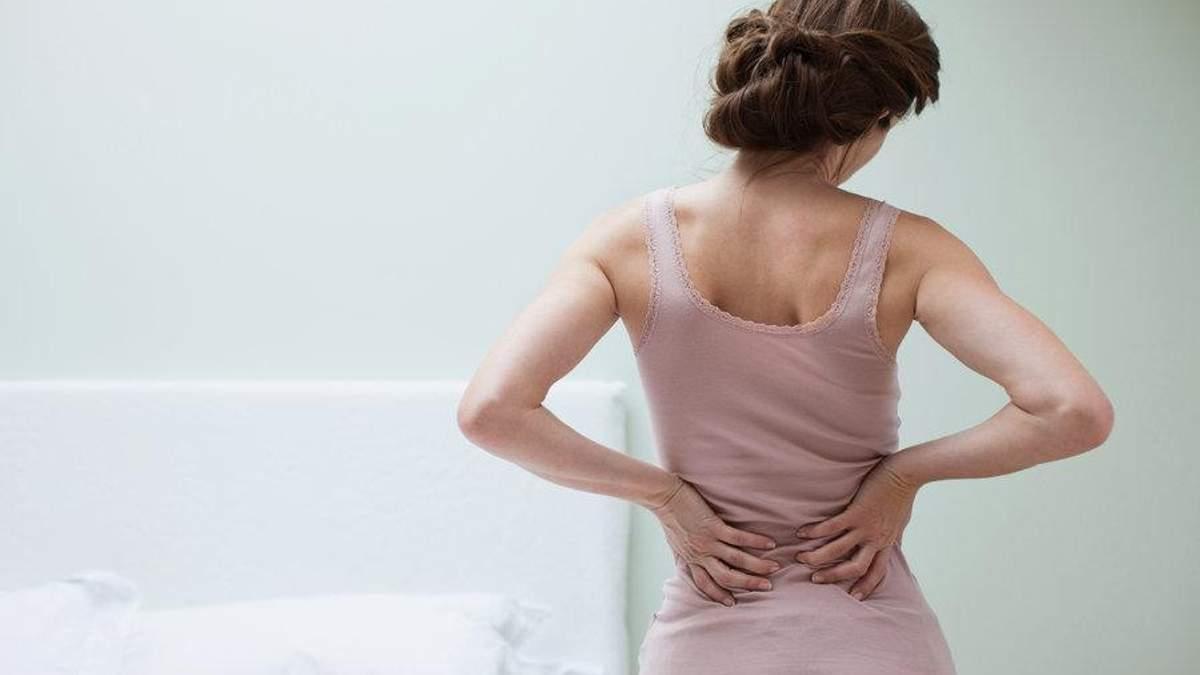 Нейрохірург назвав звички для профілактики болю у спині