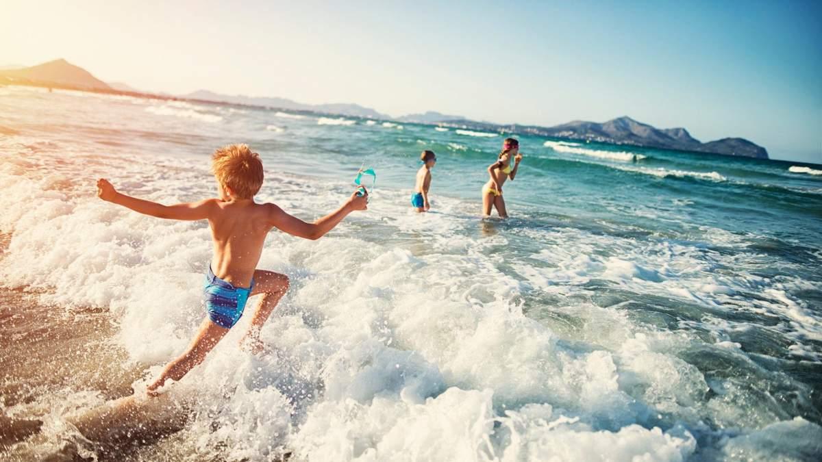 Морська вода: користь для дитини / yukle.mob