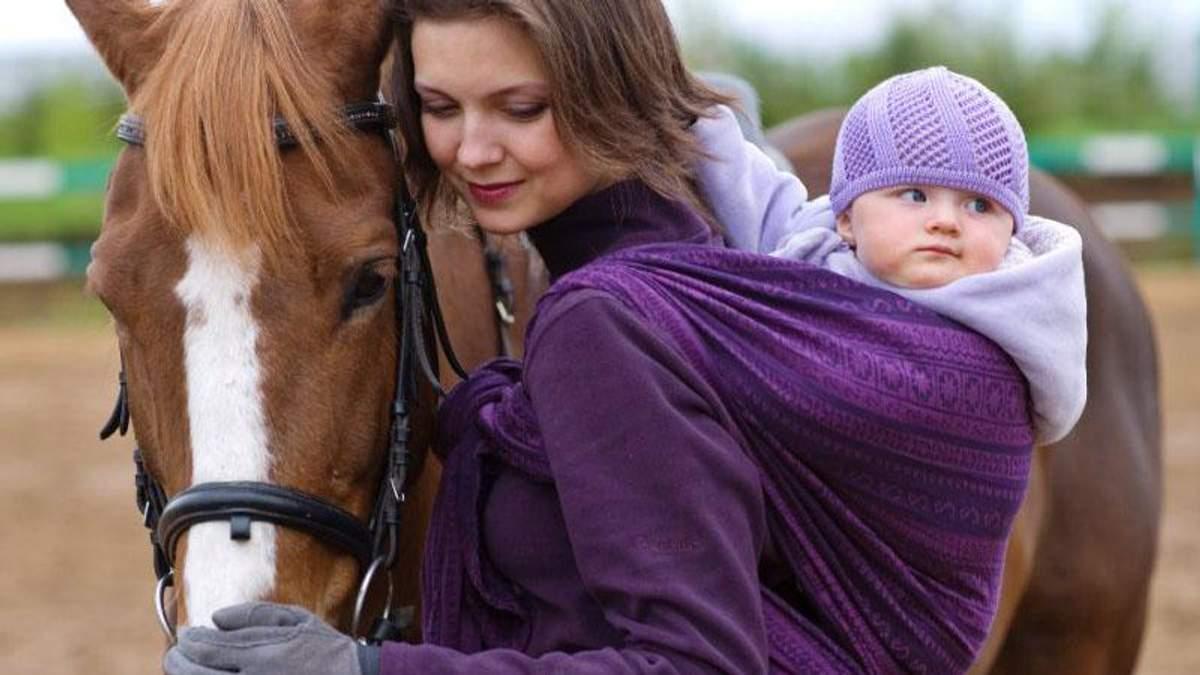 Як вибрати перший слінг для малюка: поради
