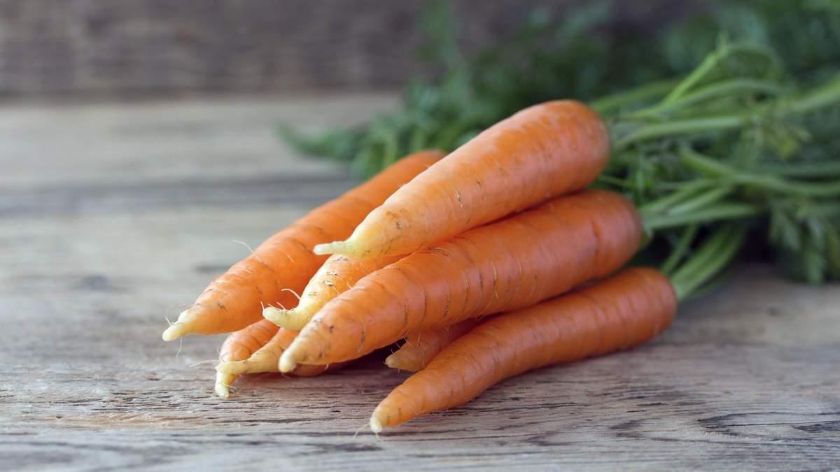 Морква - користь, вітаміни, властивості моркви