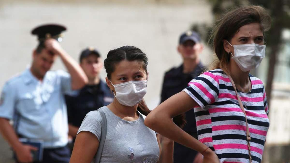 Через хімічні викиди в Армянську постраждали діти на Херсонщині
