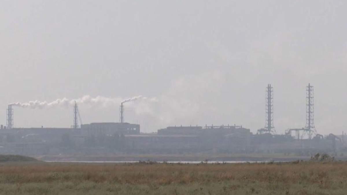 Химвыбросы в Армянске: в Минздраве обнародовали данные об уровне вредных веществ на Херсонщине