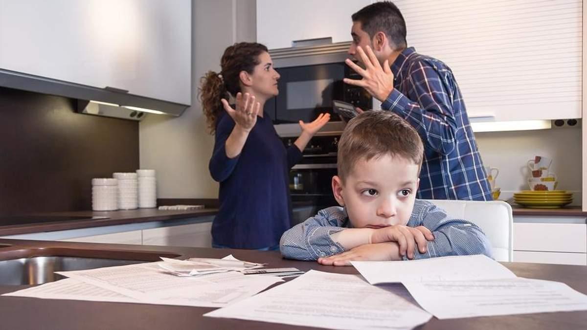 Що не можна робити під час сварок при дитині