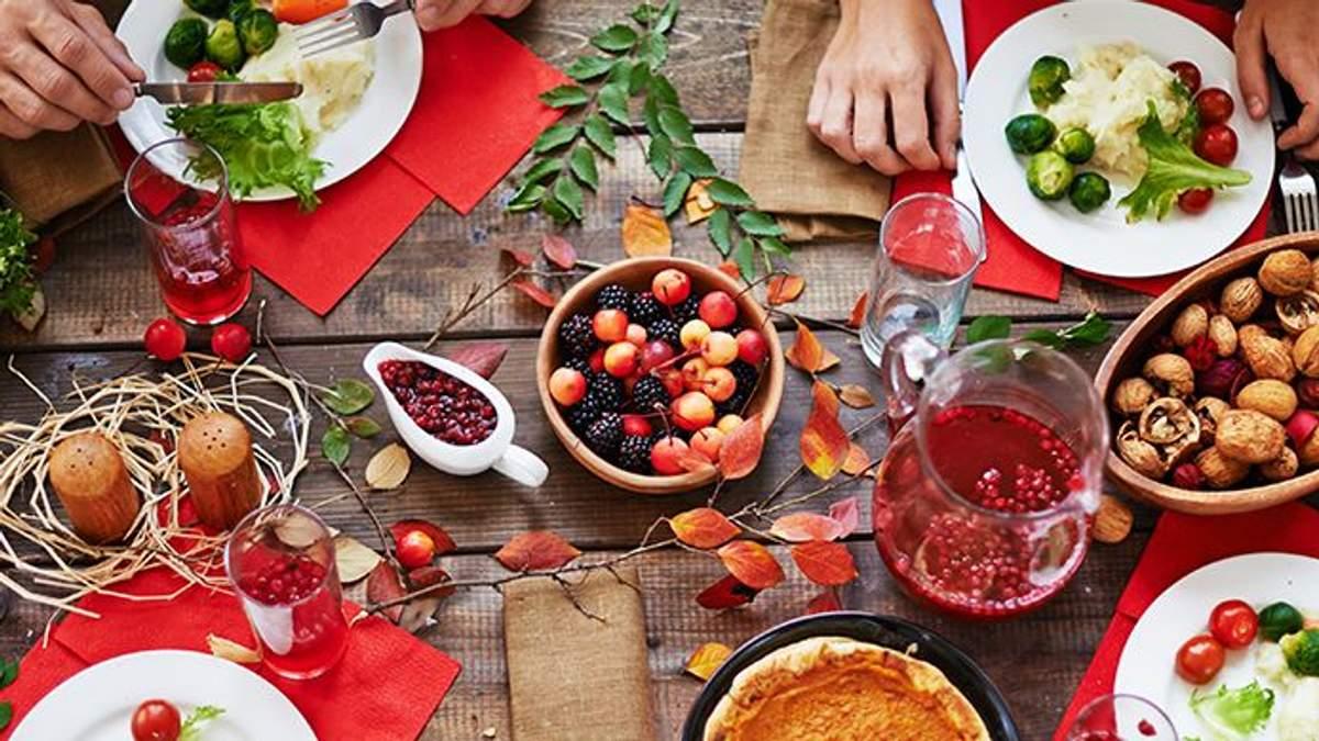 Чим харчуватися восени