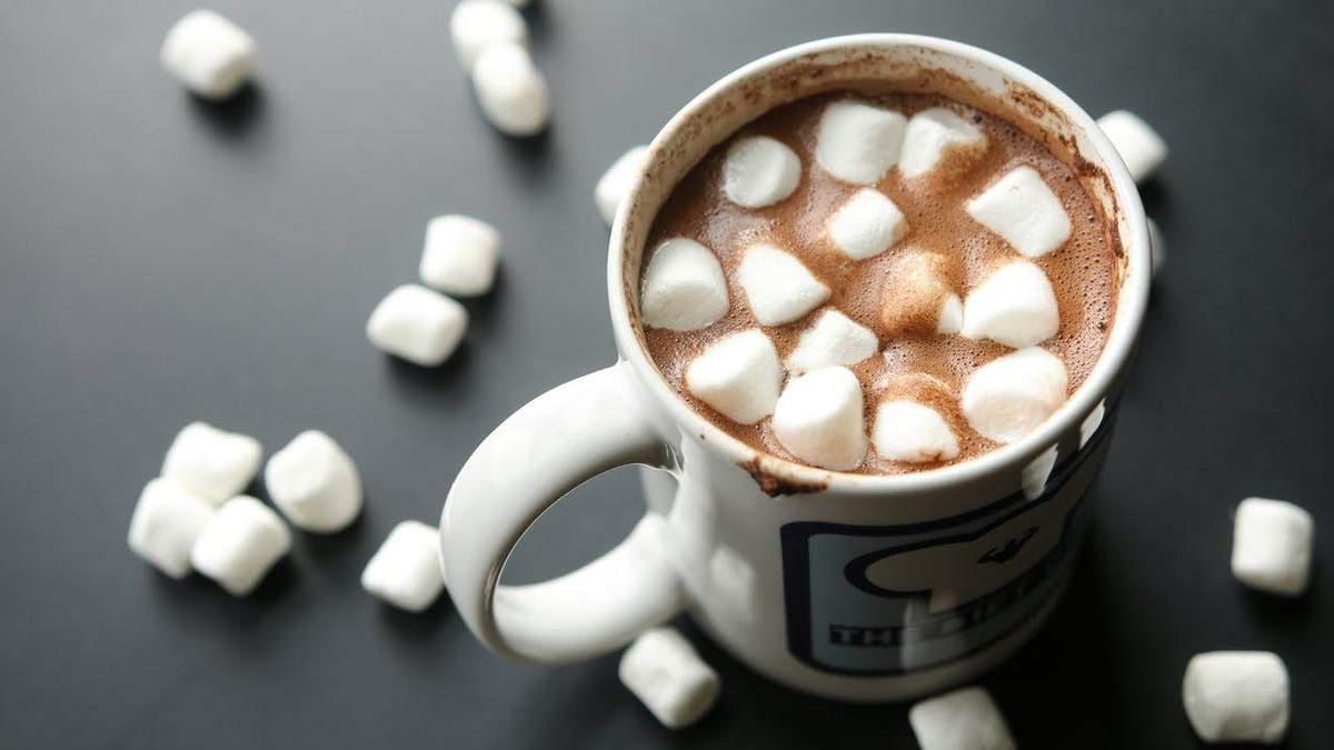В какао содержится витамин D2