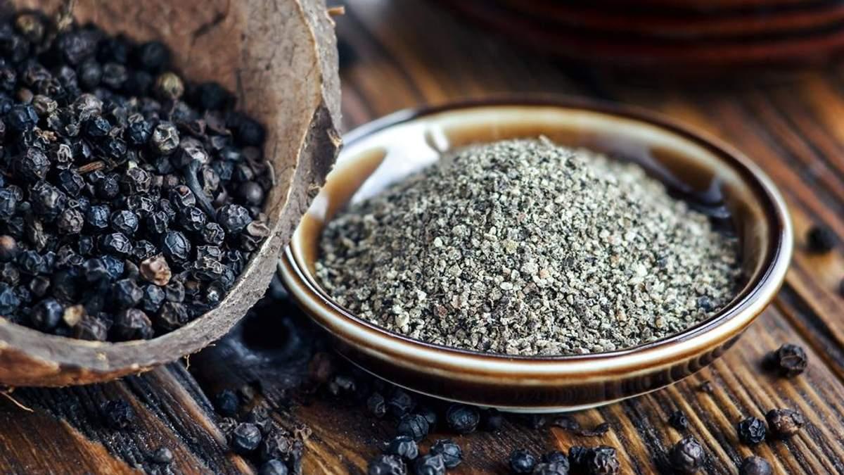 Вчені визначили унікальну властивість чорного перцю