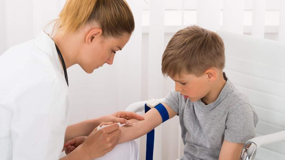 Как подготовить ребенка к сдаче анализа крови