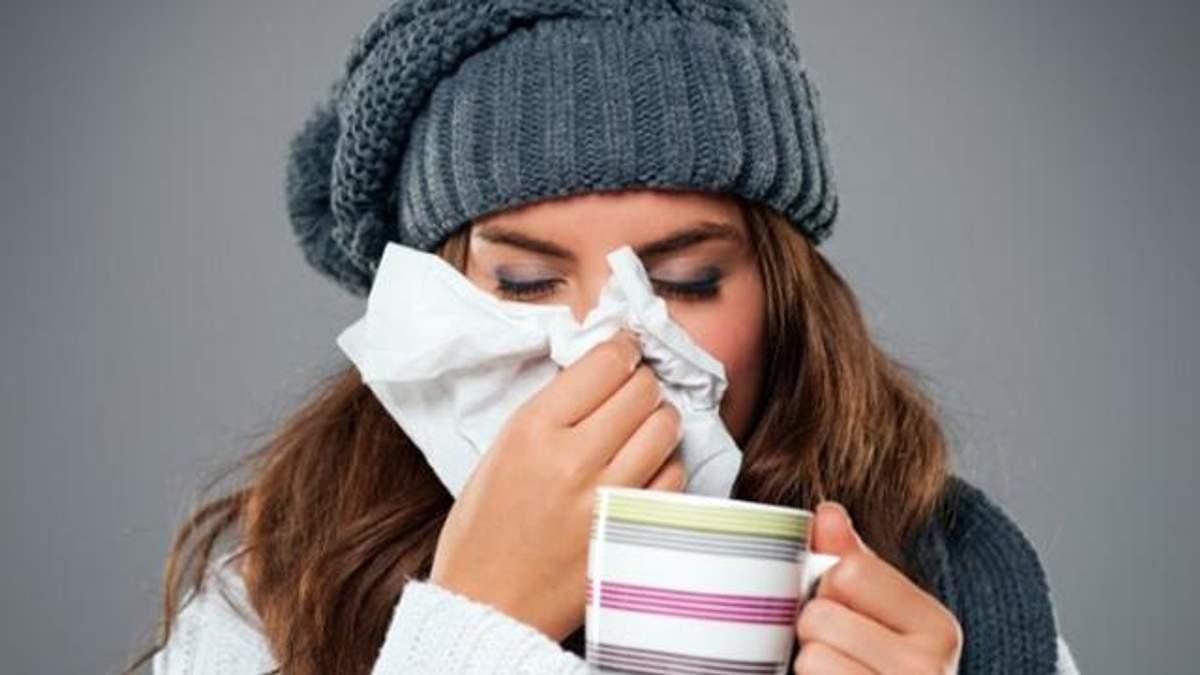 Застуда не виникає через погану погоду