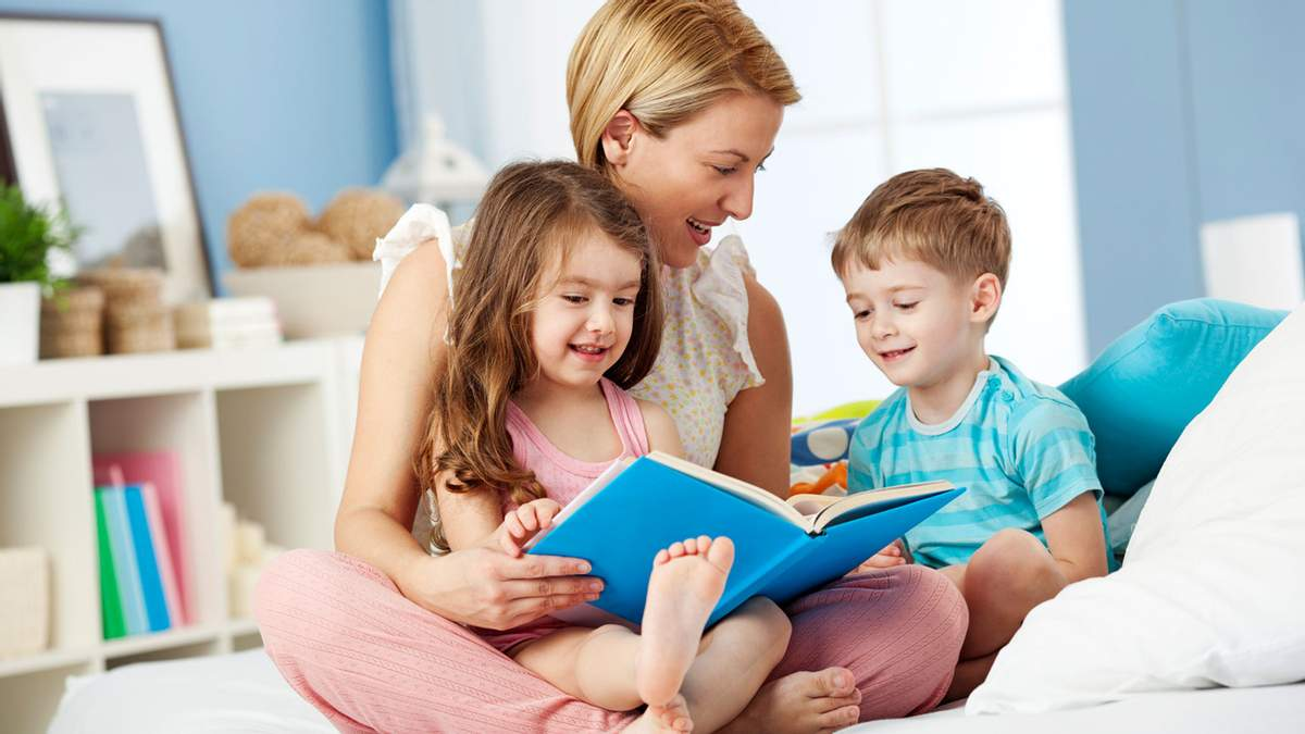 Как правильно читать детям сказки