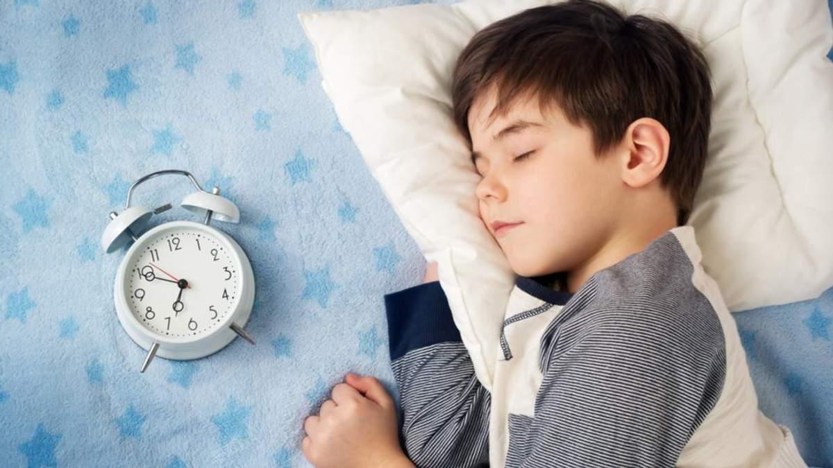 Скрегіт зубів у дітей уві сні