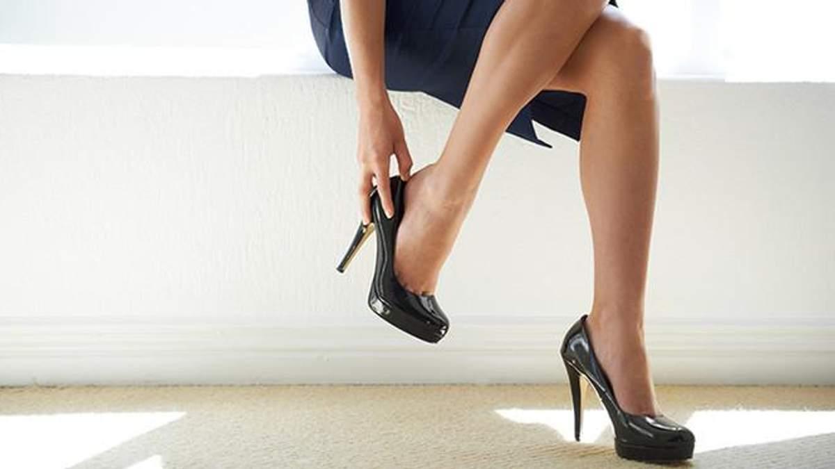Ношение высоких каблуков долгое время опасно
