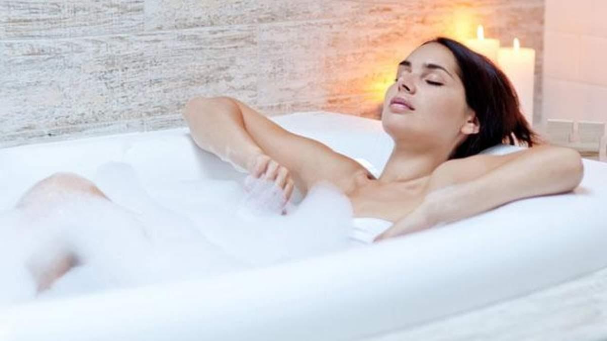 Гаряча ванна корисна для здоров'я