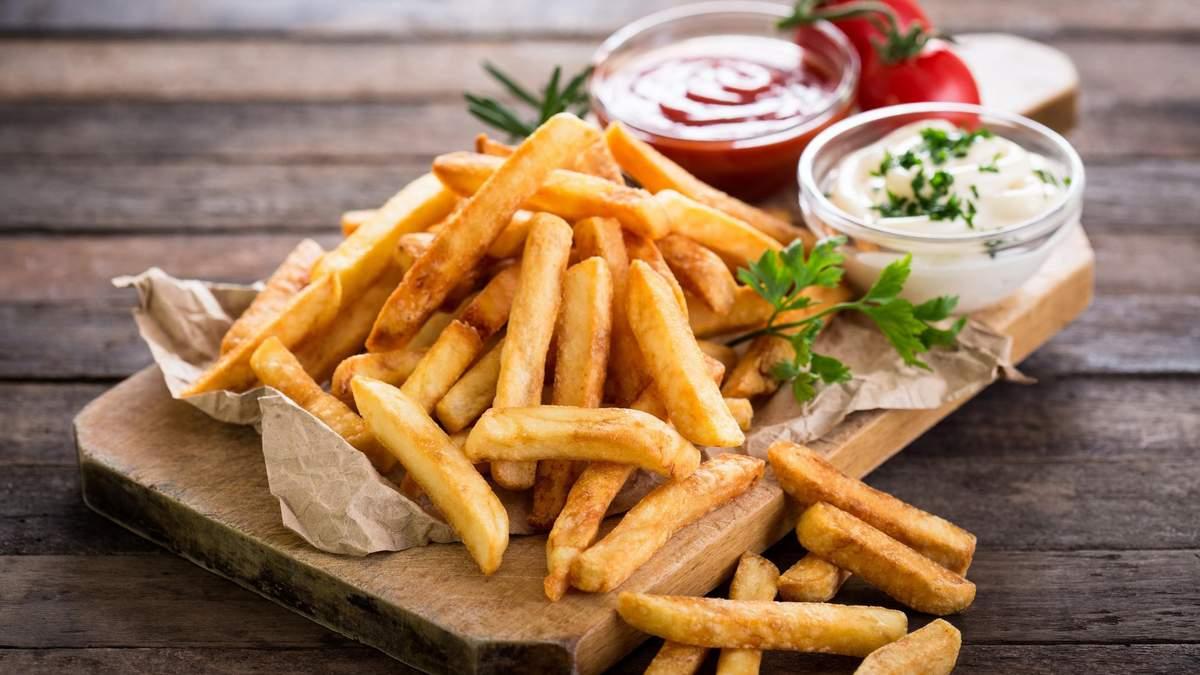Скільки можна їсти картоплі фрі без шкоди для здоров'я