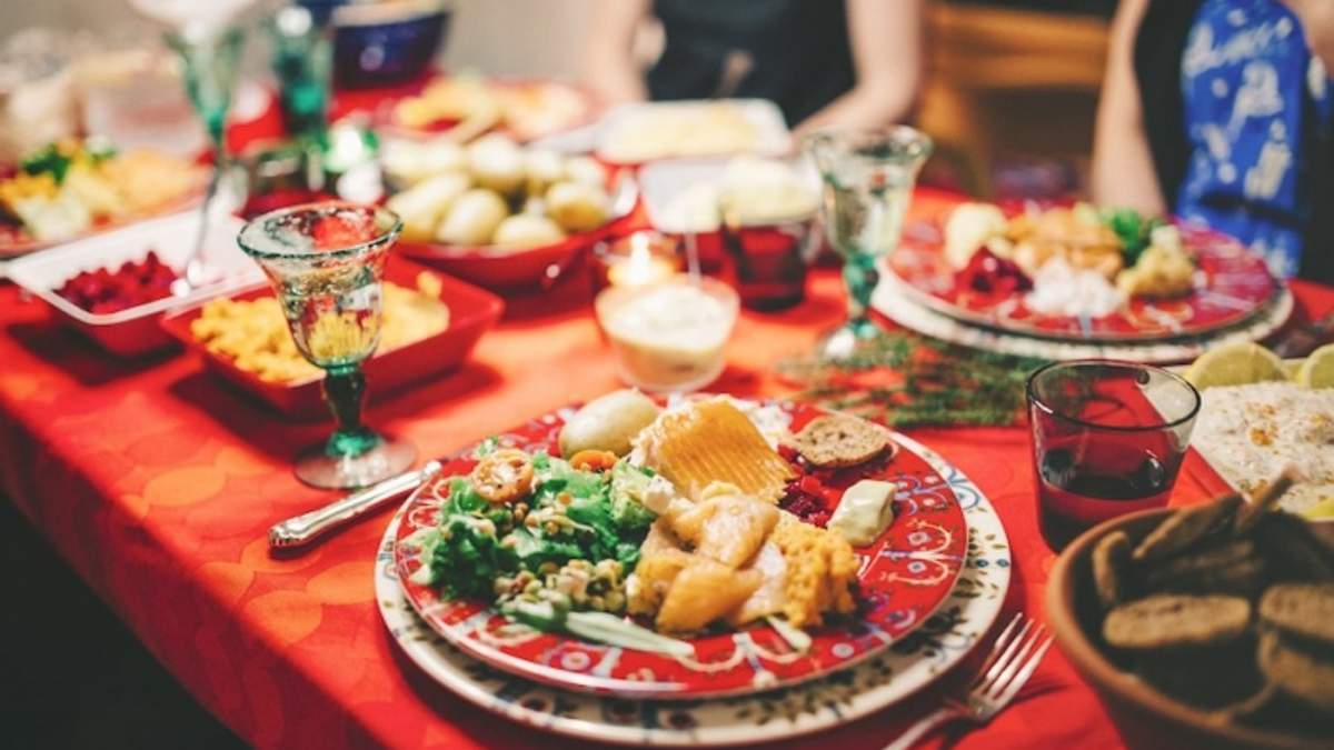 Калорийность праздничных блюд