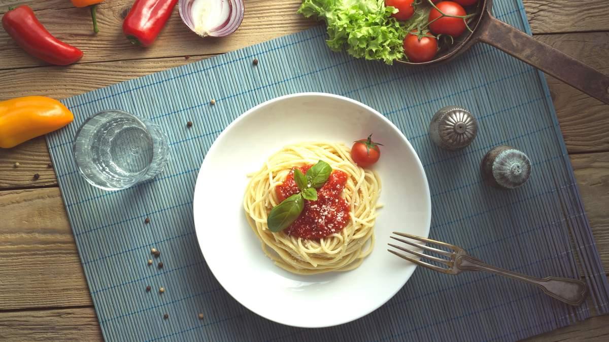 Вживання макаронів допоможе схуднути