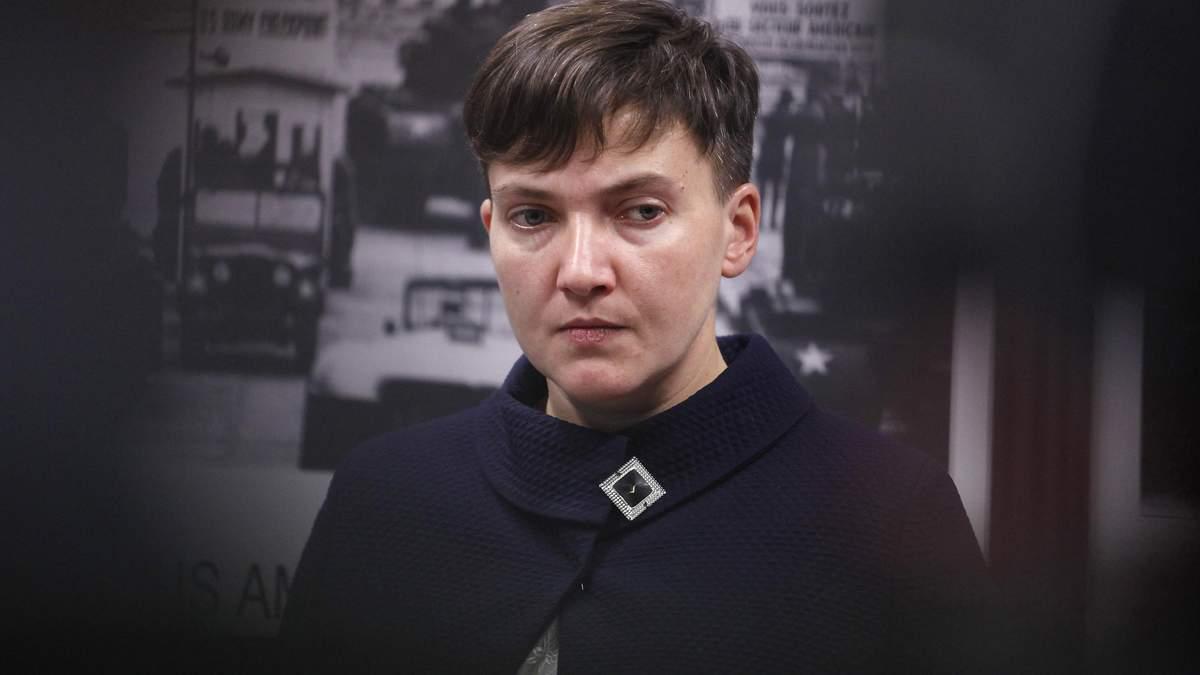 После голодания был зеленый цвет лица: у Надежды Савченко начались проблемы со здоровьем