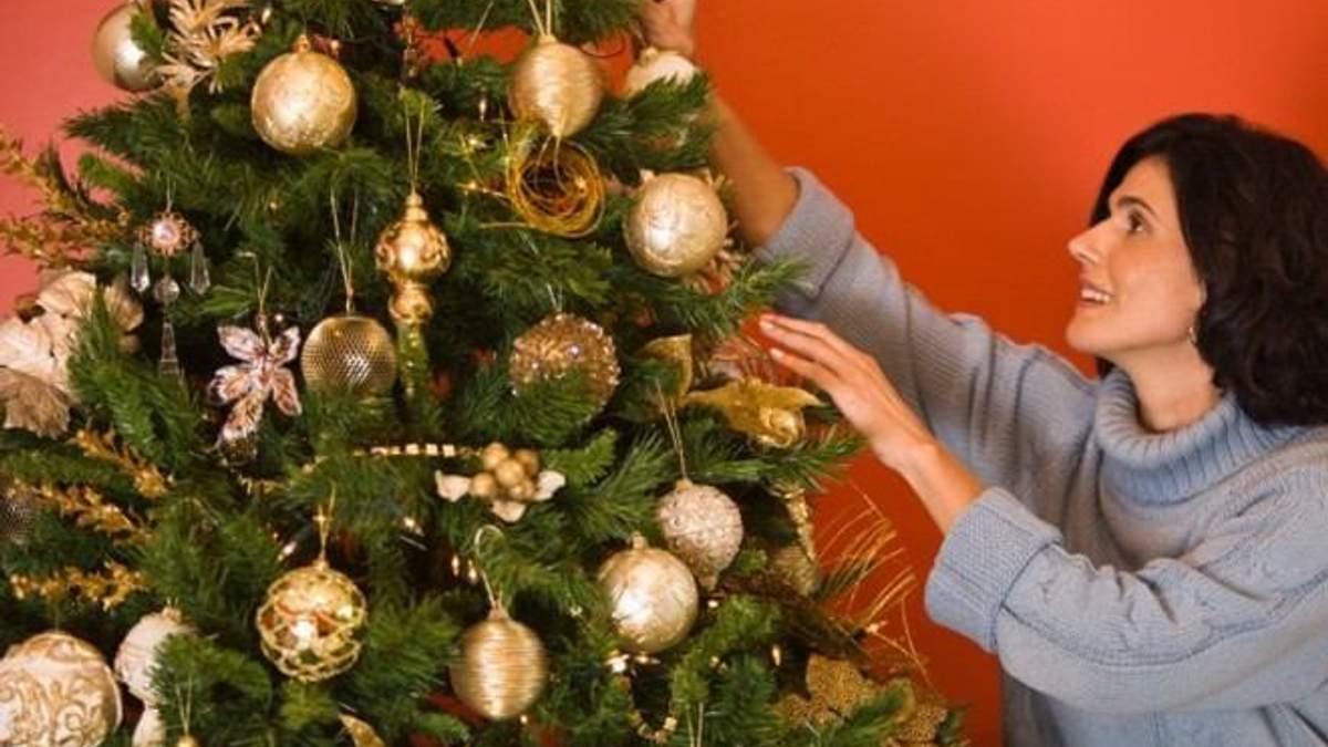Шкода новорічної ялинки