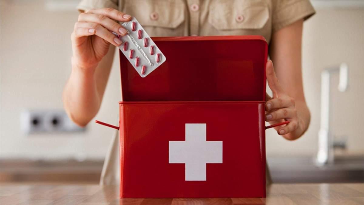 Домашня аптечка: список ліків - що має входити в домашню аптечку