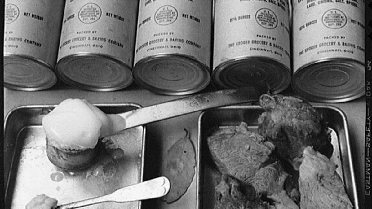 Вредное питание СССР