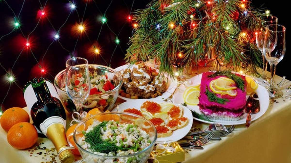 Дієтолог розповіла, як скласти новорічне меню