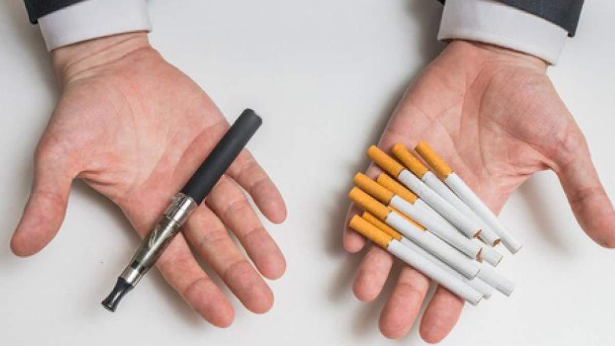 Шкода сигарет і вейпу