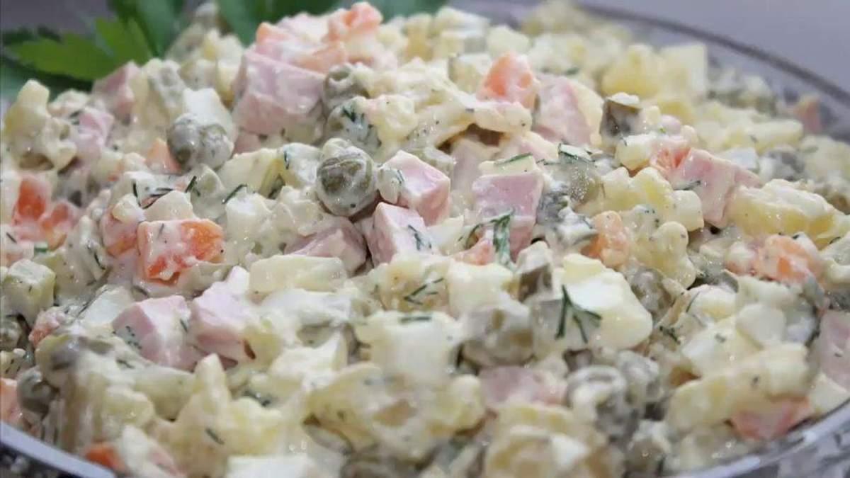Який термін придатності новорічних салатів