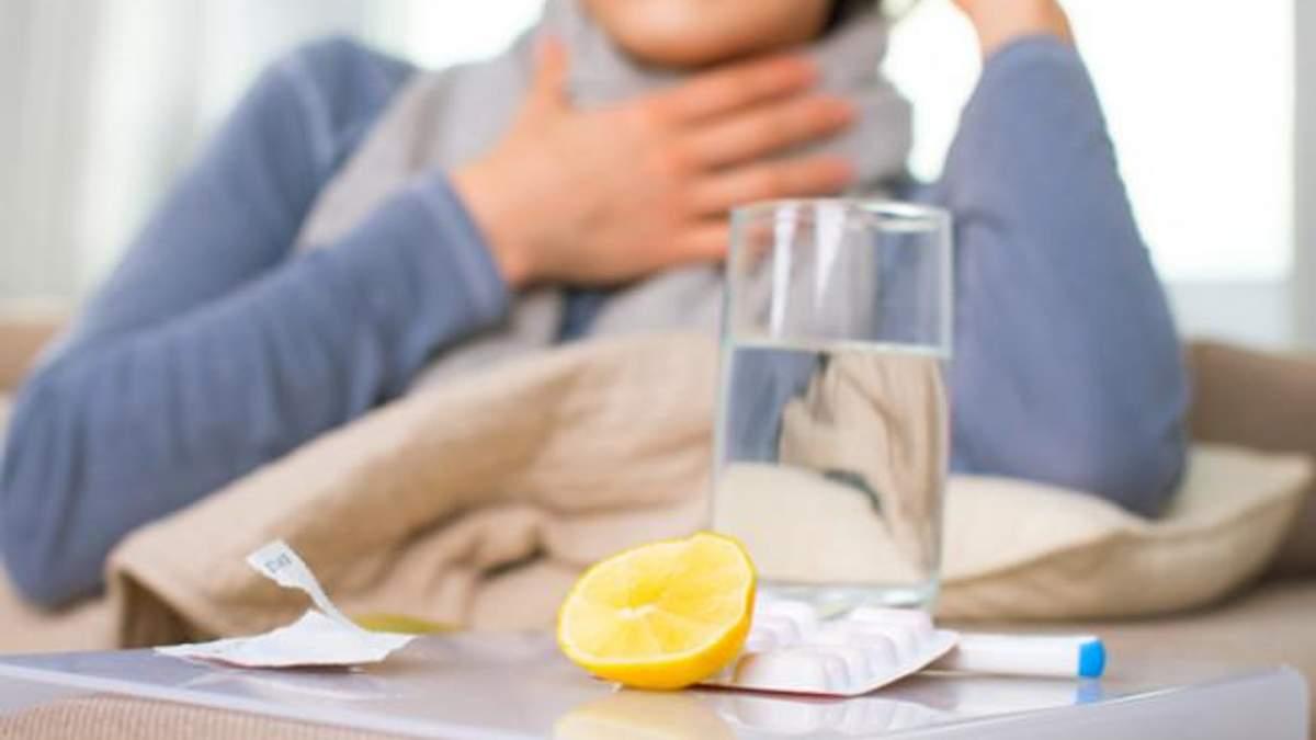 В Україні зменшилась кількість хворих на грип