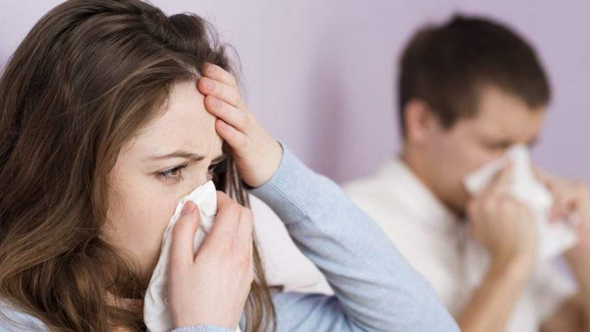 Як відрізнити грип від застуди: інфографіка від Супрун