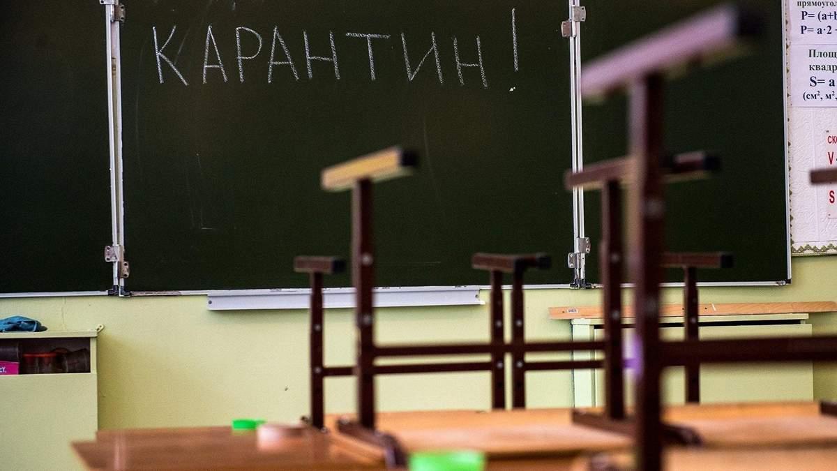Еще два города Украины закрыли школы на карантин