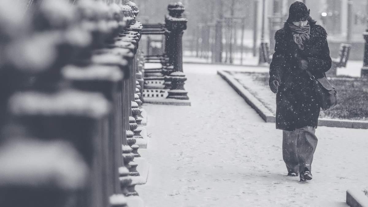 В Україні 150 людей стали жертвами переохолодження