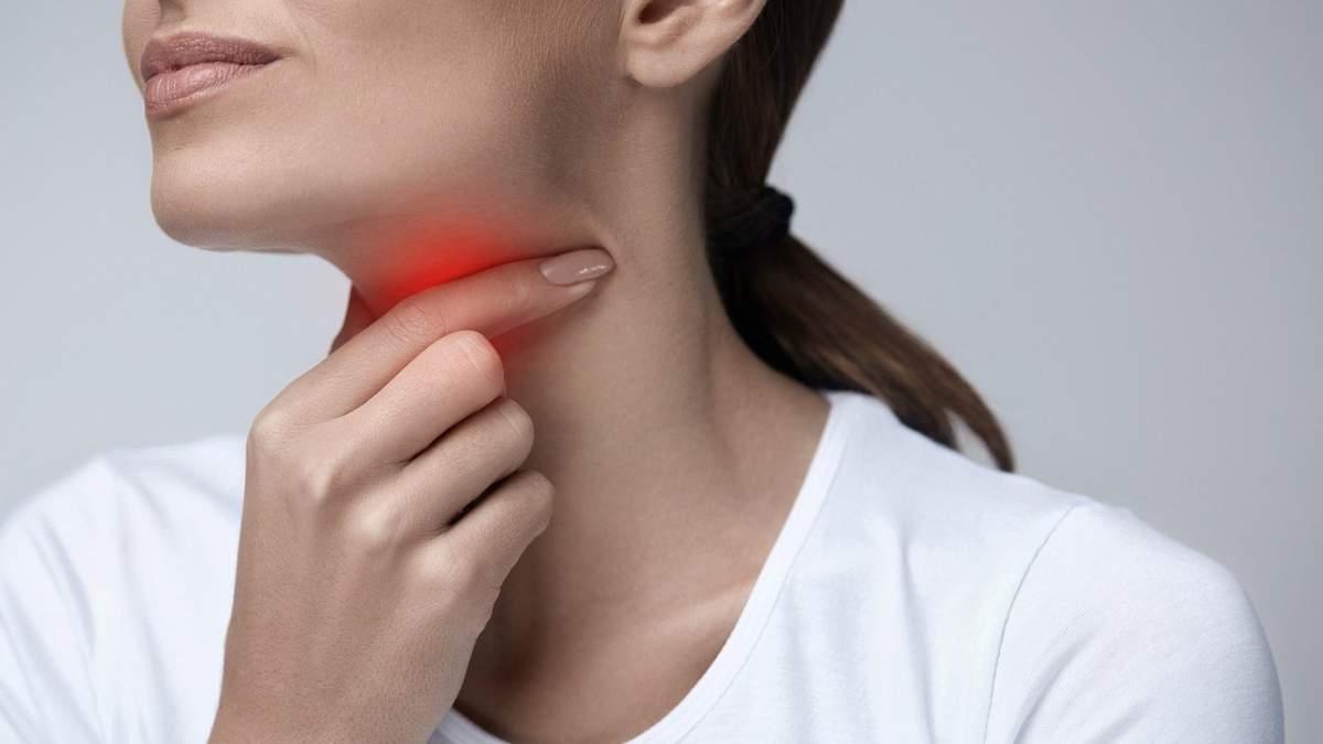 Що робити, якщо болить горло
