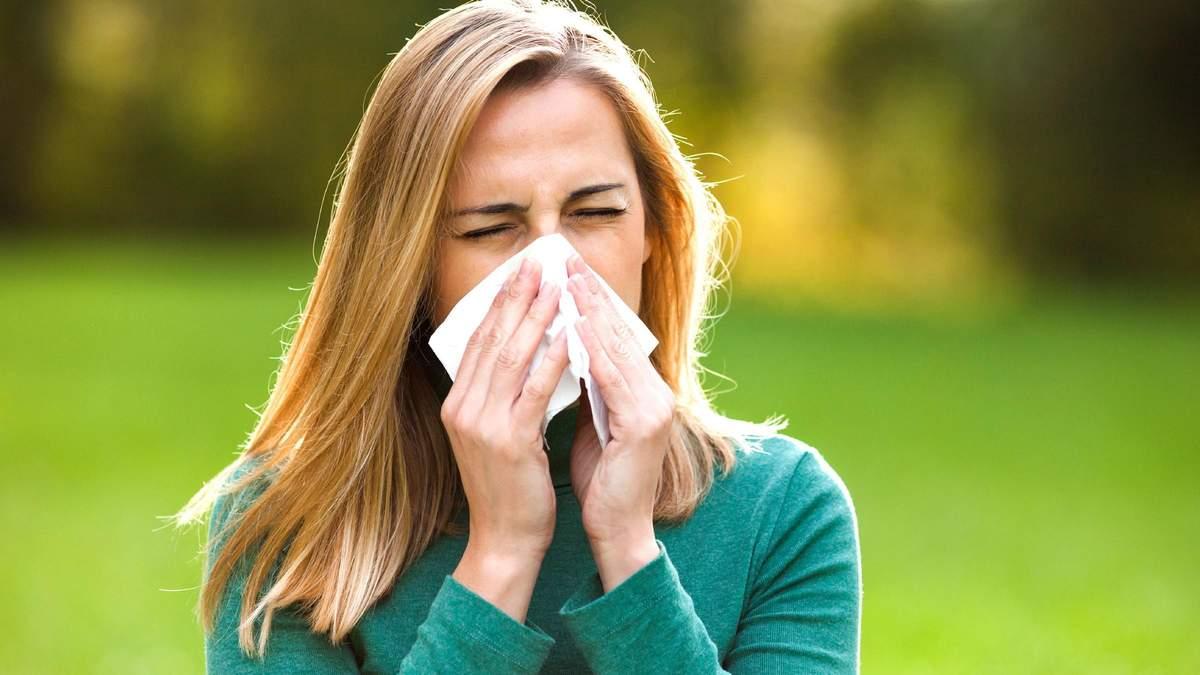 Як відрізнити симптоми ГРВІ від алергії