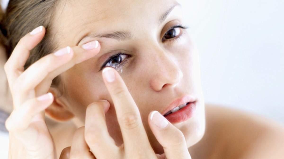 Створили контактні лінзи від алергії