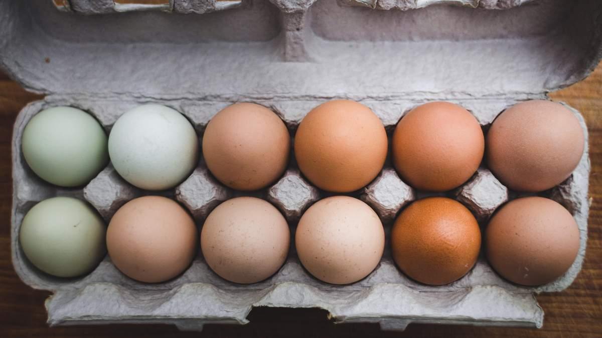 Сім міфів про яйця
