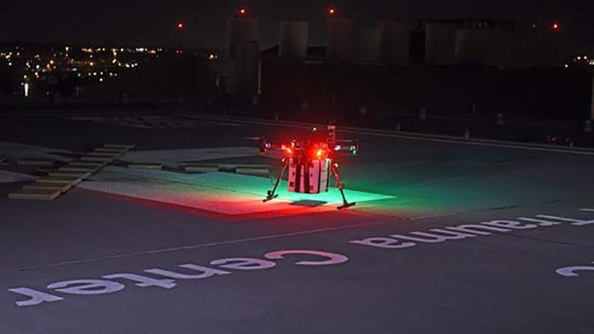 Раніше органи для трансплантації дроном ніколи не доставляли