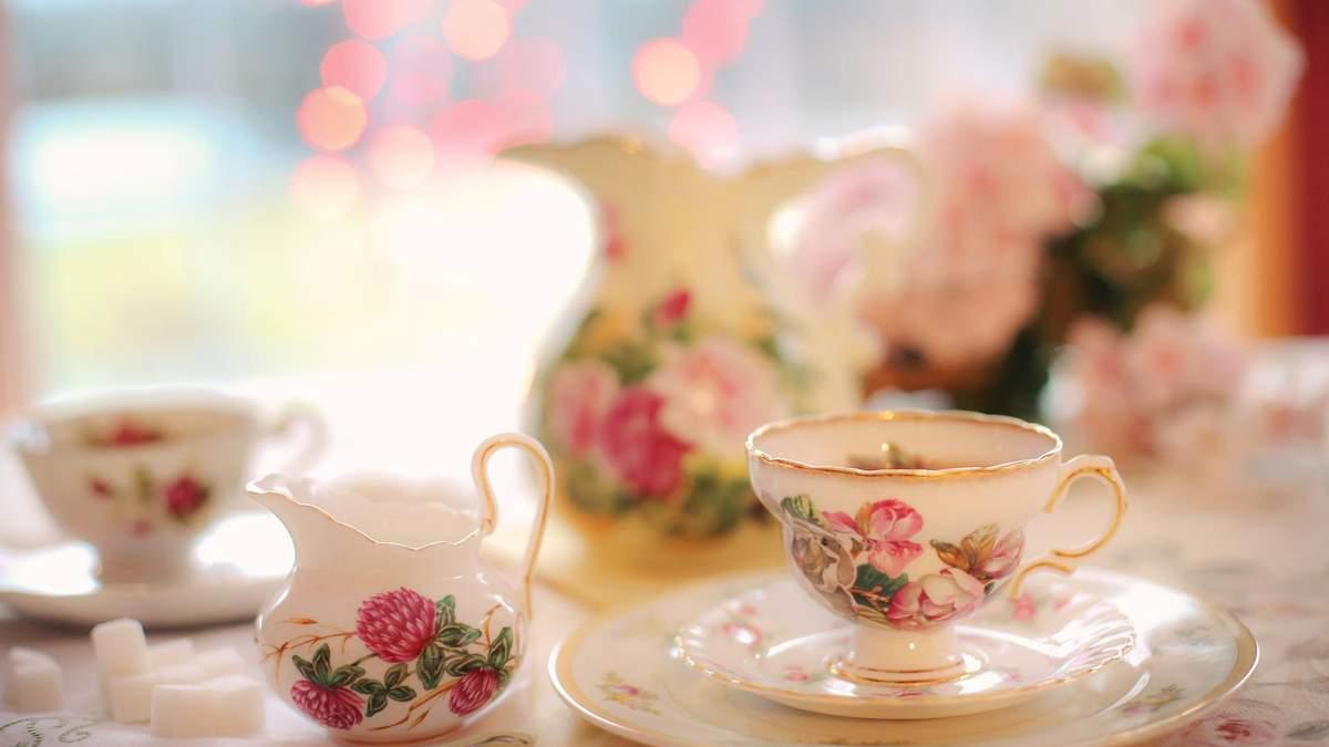 Чай без сахара