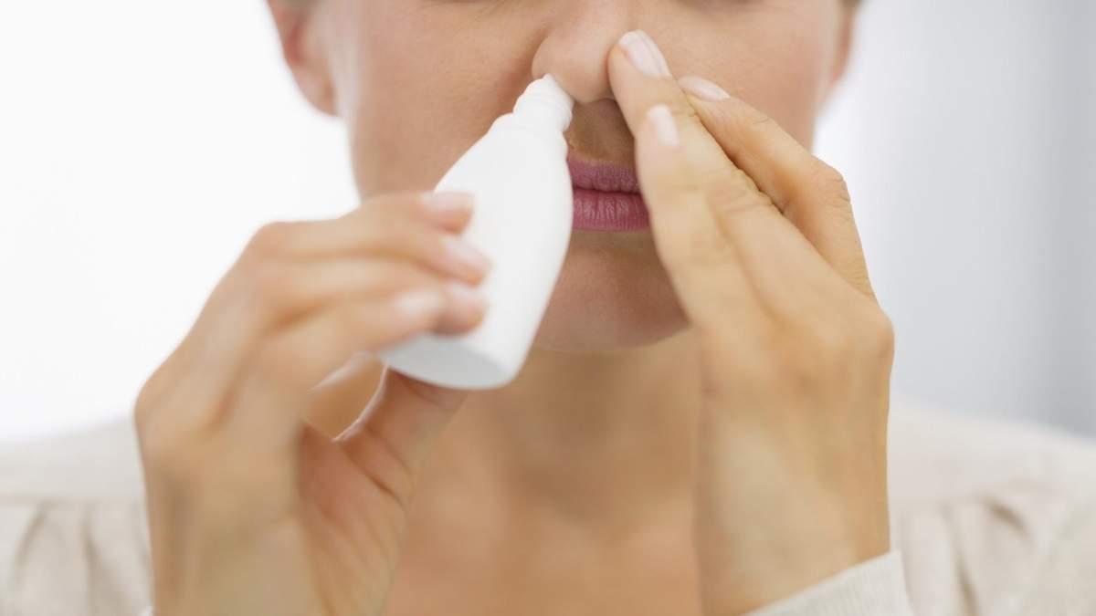 Чому не можна часто користуватися краплями для носа