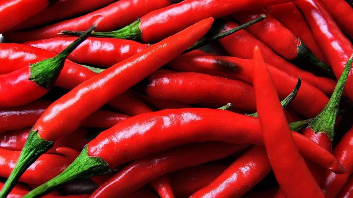 Корисні властивості червоного перцю