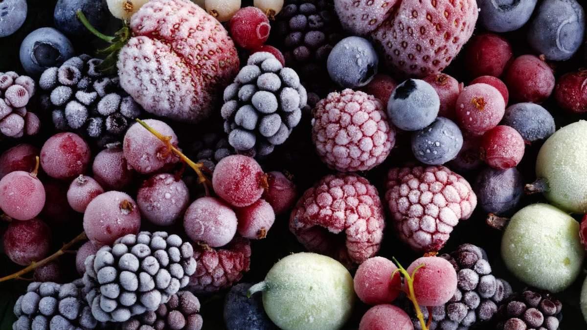 Замороженные фрукты более полезны, чем варенье