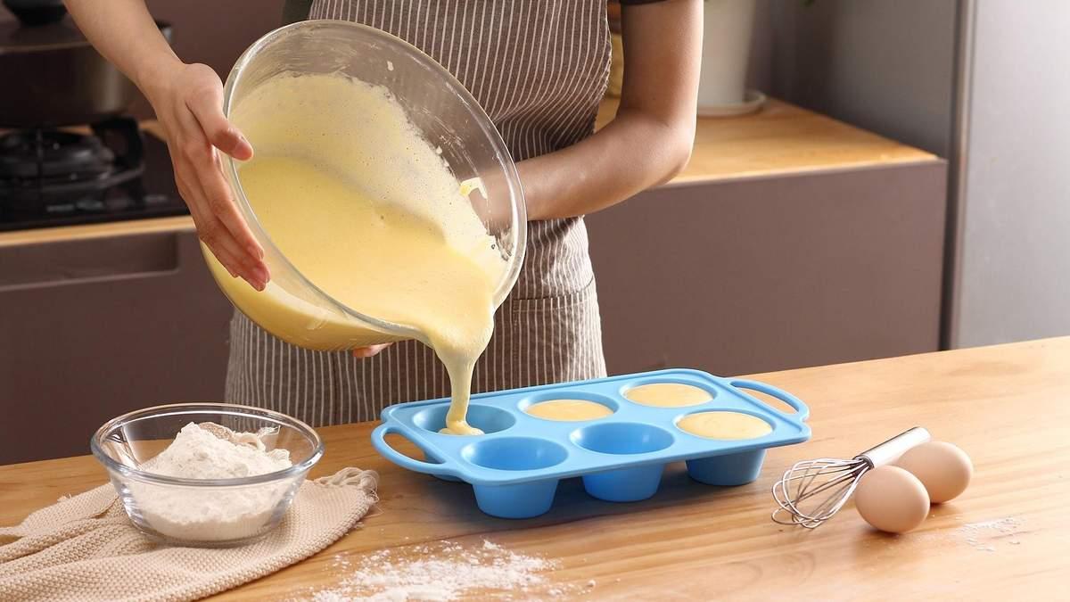 Чи безпечно готувати їжу у силіконових формах