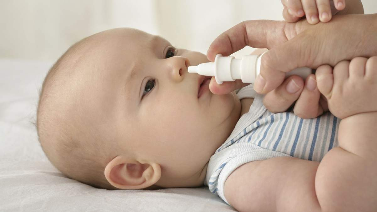 Какие средства нельзя капать детям в нос