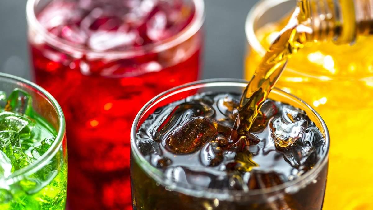 Солодкі напої шкодять здоров'ю
